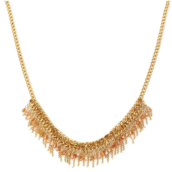 Haskell Cluster Necklace - Multi/Gold