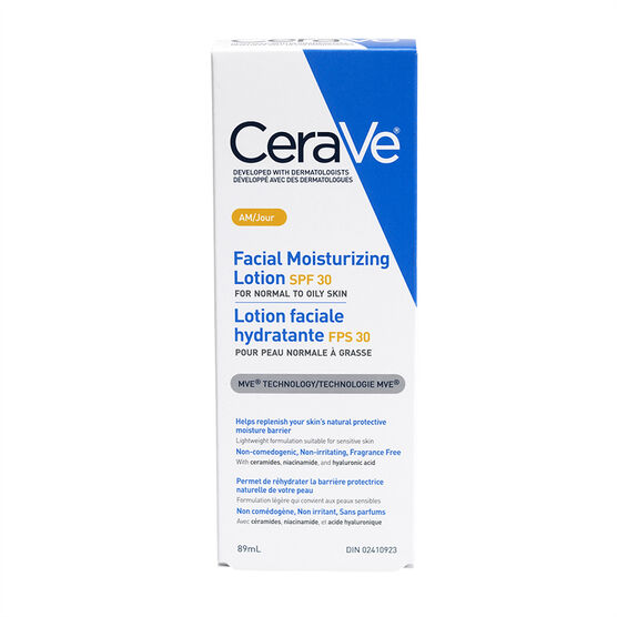 CeraVe Facial Moisturizing Lotion - AM - 89ml