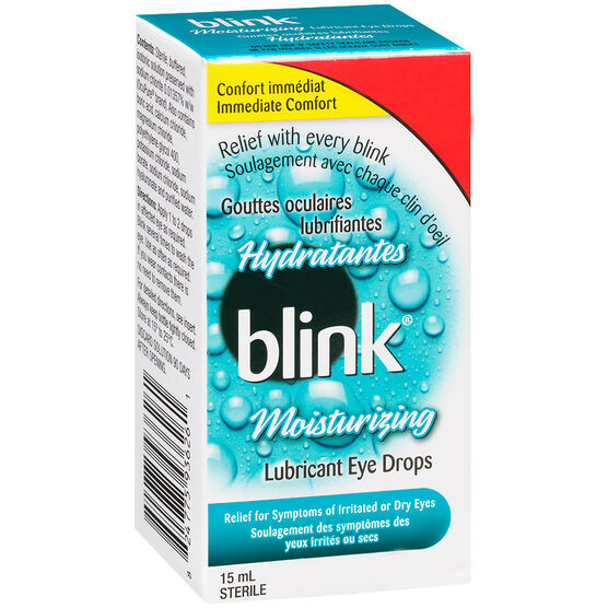 Abbott Blink Moisturizing Drops - 15ml