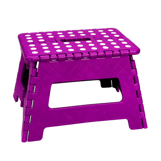 London Drugs Folding Step Stool - Purple