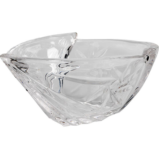 London Drugs Crystal Tri-Shape Bowl