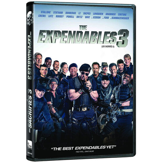 The Expendables 3 - DVD