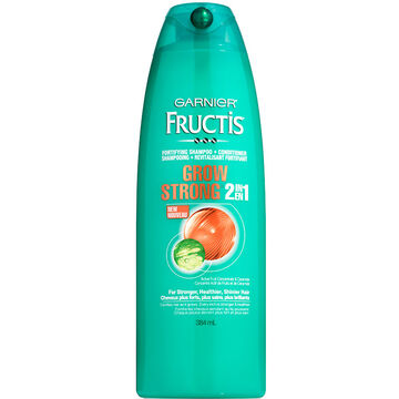 Garnier Fructis Grow Strong 2 In 1 Shampoo & Conditioner - 384ml