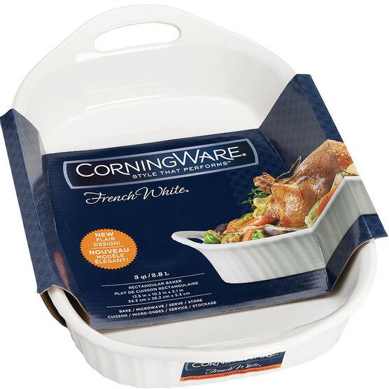Corningware Baker - French White - 2.8L