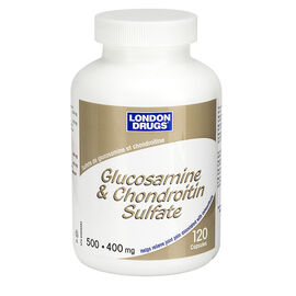 London Drugs Glucosamine and Chondroitin Sulfate - 500/400mg - 120's