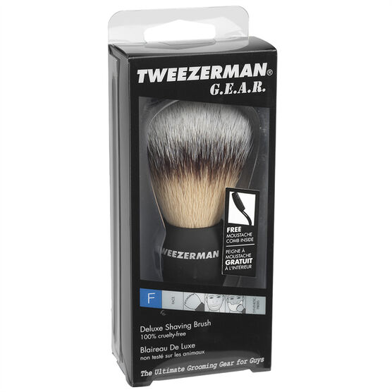 Tweezerman Gear Deluxe Shave Brush