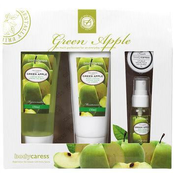 BodyCaress Bath Gift Set - Green Apple - 4 piece
