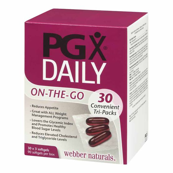 Webber Naturals PGX Daily On-the-Go - 30 x 3's