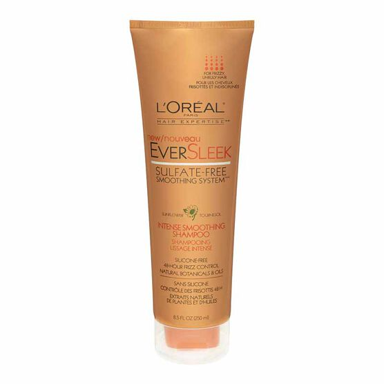 L'Oreal EverSleek Sulfate-Free Smoothing System Intense Smoothing Shampoo - 250ml