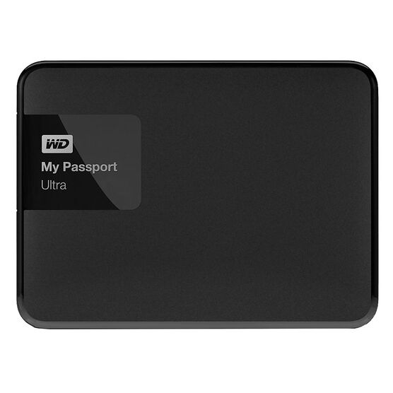 Western Digital 4TB My Passport Ultra USB 3.0 External Hard Drive