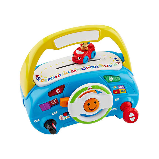 Fisher-Price Laugh 'N Learn Puppy's Smart Stages Driver - DLH86