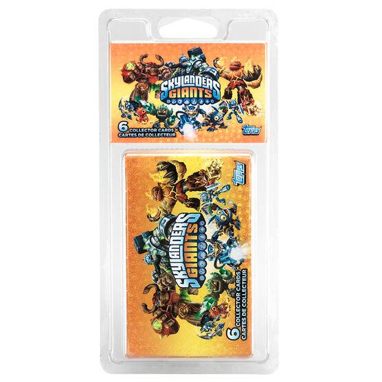Skylanders Giants Collector Card Booster Pack - 6's
