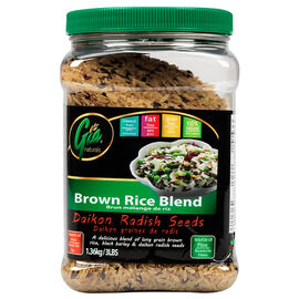Gia Naturals - Brown Rice Blend - Daikon Radish Seeds - 1.36kg