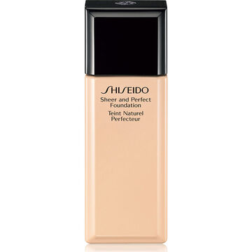 Shiseido Sheer and Perfect Foundation - I40 Natural Fair Ivory