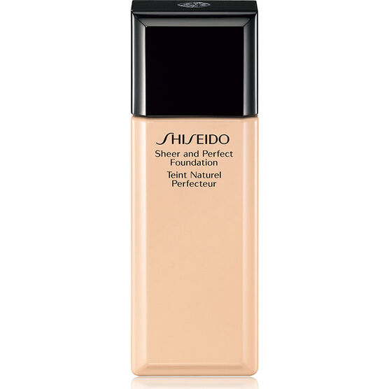 Shiseido Sheer and Perfect Foundation - I40 Natural Fair Ivory