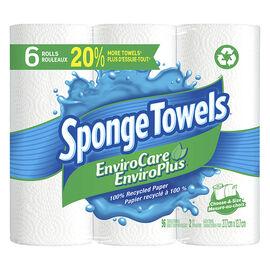 Spongetowels EnviroCare Choose-A-Size - 6's