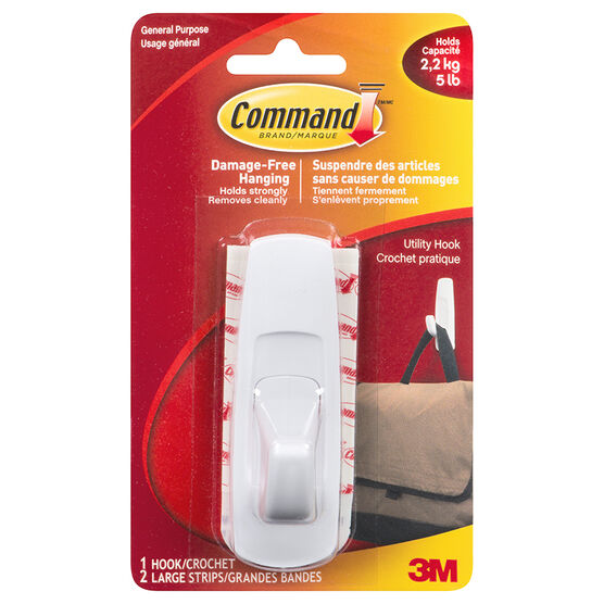 3M Command Utility Hook - Large - 1's