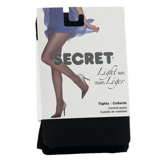 Secret Light Tights - A - Black
