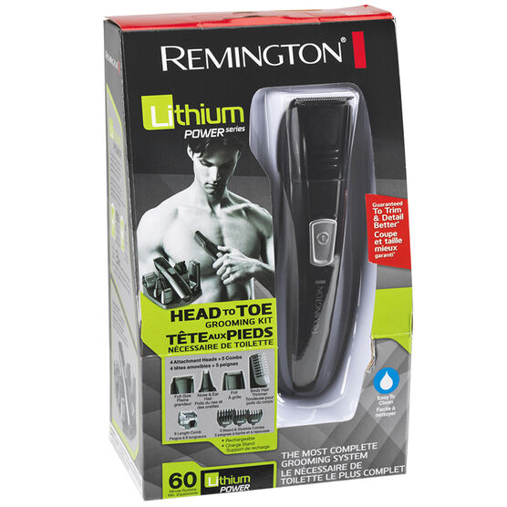 Remington Head to Toe Grooming Kit - PG525CDN