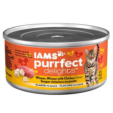 Iams Purrfect Delight Cat Food - Chicken Dinner - 85g