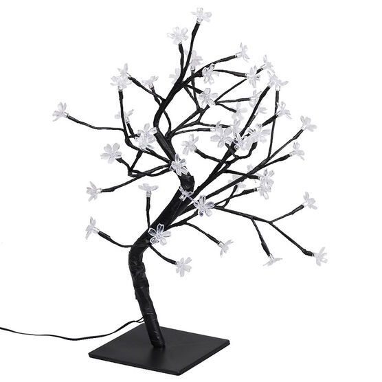 Danson Indoor/Outdoor Blossom Tree - 20in - White/Blue - X99694BW