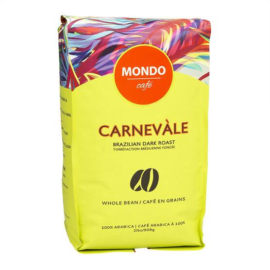 Mondo Café Carnevale Coffee Beans - 908g