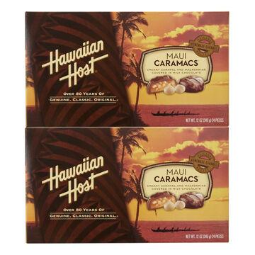Hawaiian Host Maui Caramacs - 2 x 340g