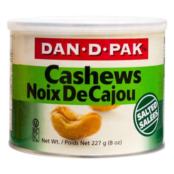 Dan-D-Pak Cashews - Salted - 227g