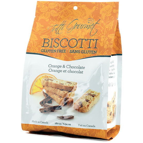 Tutti Gourmet Biscotti - Orange & Chocolate - 180g