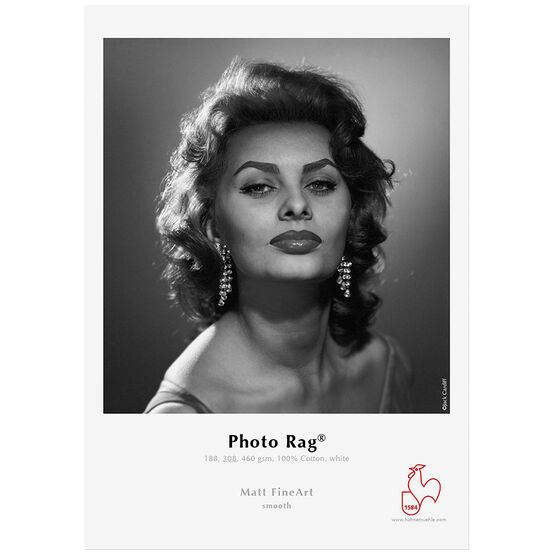 Hahnemuhle Photo Rag 308gsm - 8.5 x 11inch - 25 sheets
