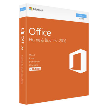 Microsoft Office Home & Business 2016 - 1 PC