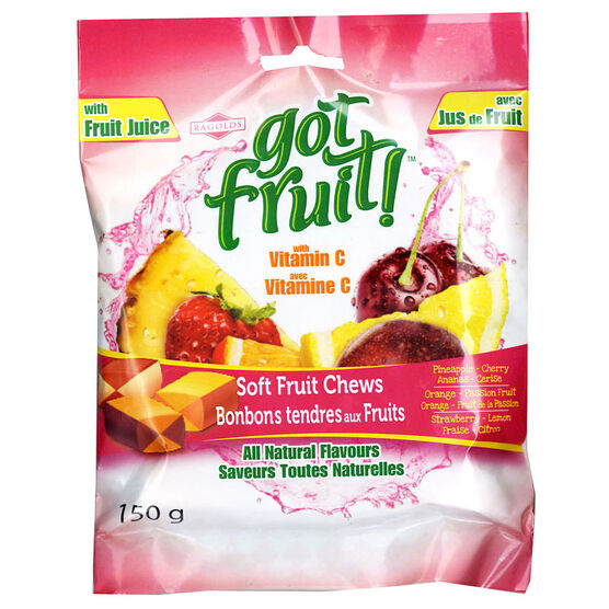 Got Fruit - Soft Fruit Chews - 150g