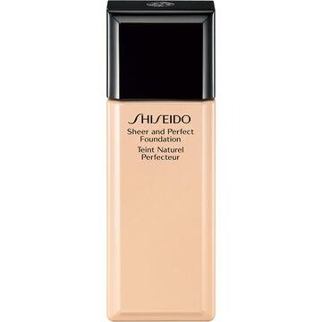 Shiseido Sheer and Perfect Foundation - I20 Natural Light Ivory