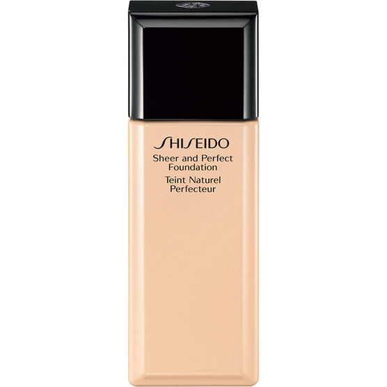 Shiseido Sheer and Perfect Foundation - I20 Natural Light Ivory