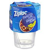 Ziploc Twist 'n Loc - Medium - 2 Containers & Lids