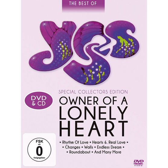 Yes - Owner of a Lonely Heart - DVD
