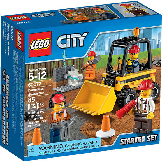 Lego City - Demolition Starter Set - 60072