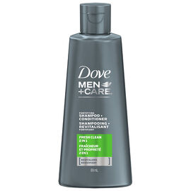 Dove Men+Care Fortifying Shampoo + Conditioner - Fresh Clean - 89ml