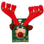 Danson Reindeer Antlers with Flashing Nose