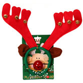 Danson Reindeer Antlers with Flashing Nose