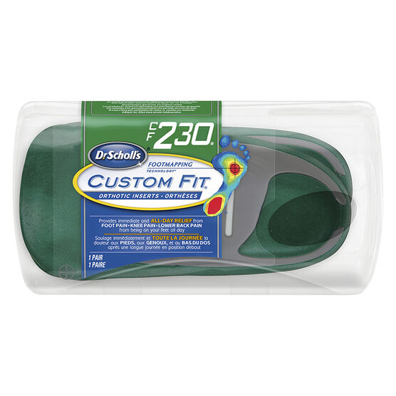 Dr. Scholl's Custom Fit Orthotic Insoles - CF230 - M10/W11.5