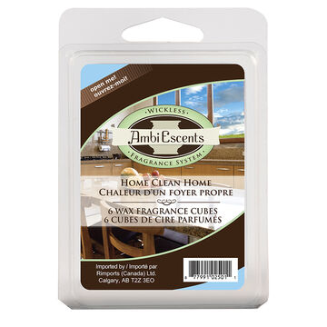AmbiEscents Wax Refill - Clean Home - 004-30381