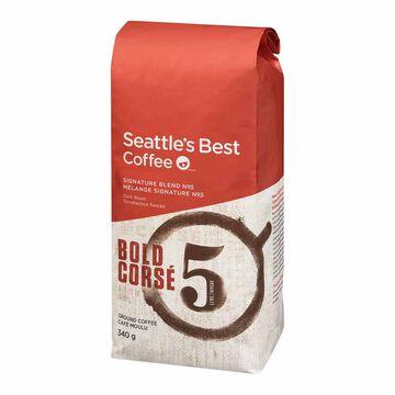 Seattle's Best Ground Coffee - Bold - 340g