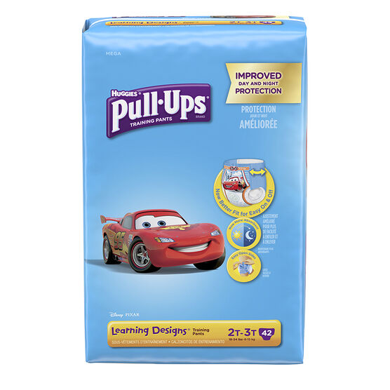 Pull-Ups Learning Designs Training Pants - Boys - Size 2T-3T - 42's