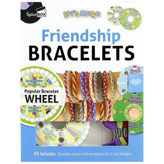 Spicebox Let's Make - Friendship Bracelets