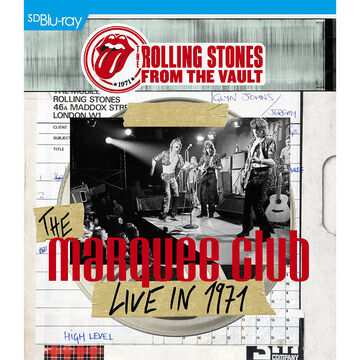 The Rolling Stones - The Marquee Club: Live in 1971 - Blu-ray + CD