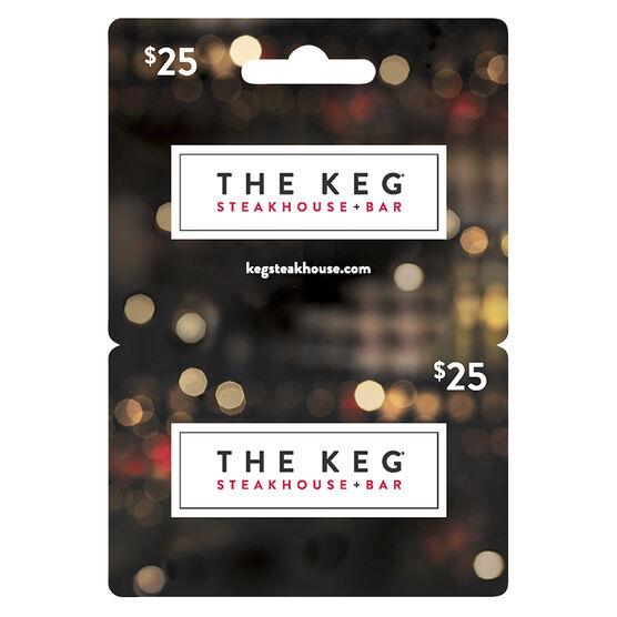 Keg Gift Card - $25