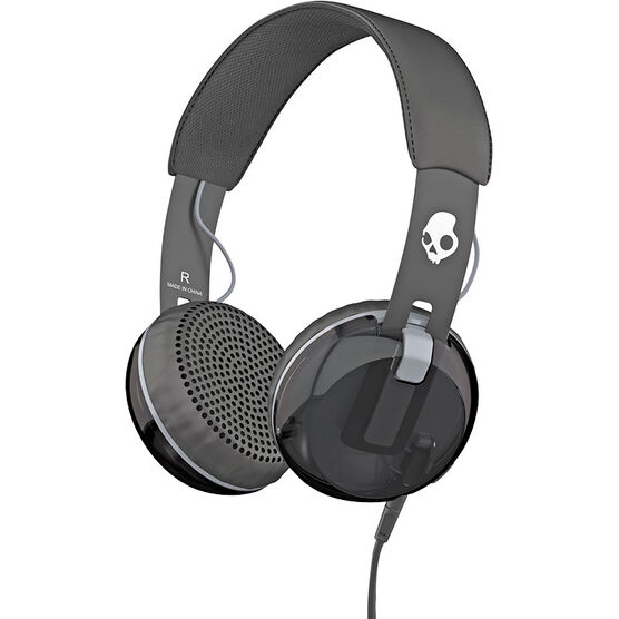 Skullcandy Grind Headphones with Mic - Black - S5GRHT448