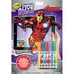 Crayola Colour Alive Colouring Book - Avergers