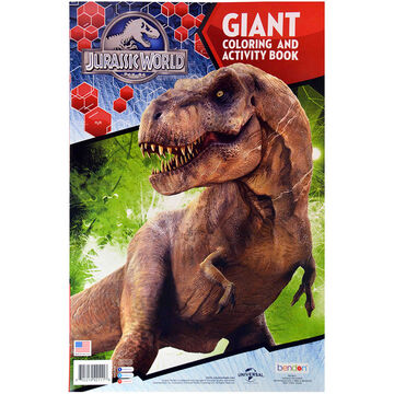 Jurassic World Giant Colouring and Activity Book